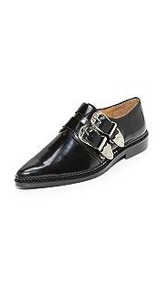 Toga Pulla Ботинки на шнурках с пряжками