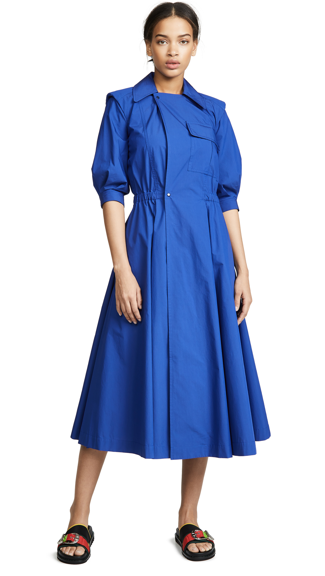 Toga TAFFETA SHIRTDRESS