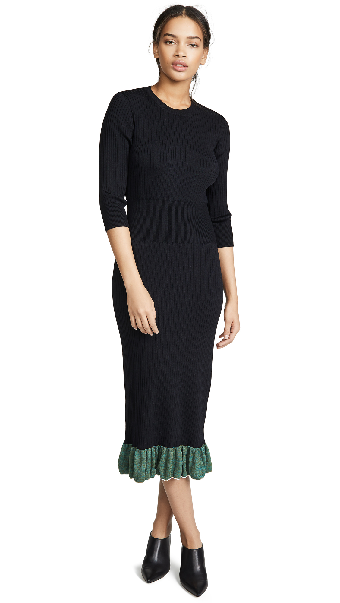 Toga WIDE RIB KNIT DRESS