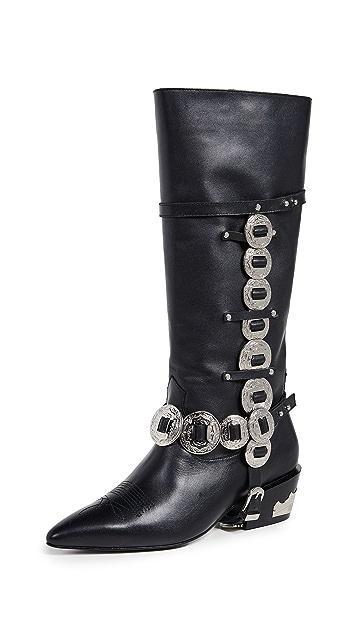 Toga Pulla Chain Boots