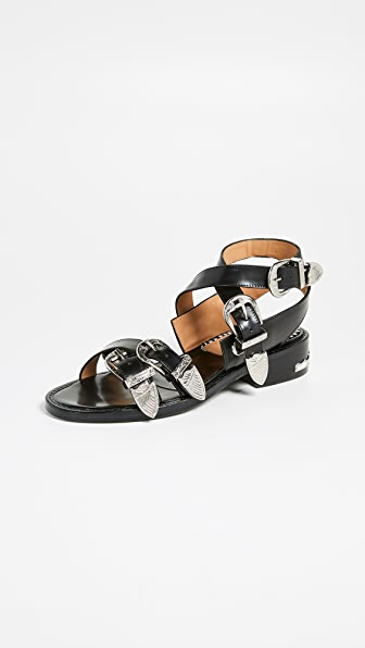 Toga Buckle Strap Sandals