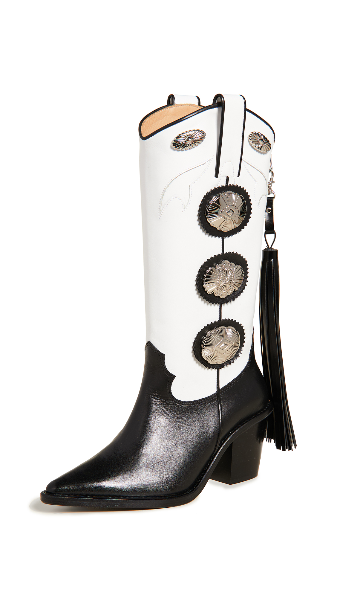 Buy Toga Pulla online - photo of Toga Pulla Tall Fringe Boots