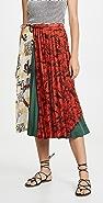 Toga Pulla Mixed Print Skirt