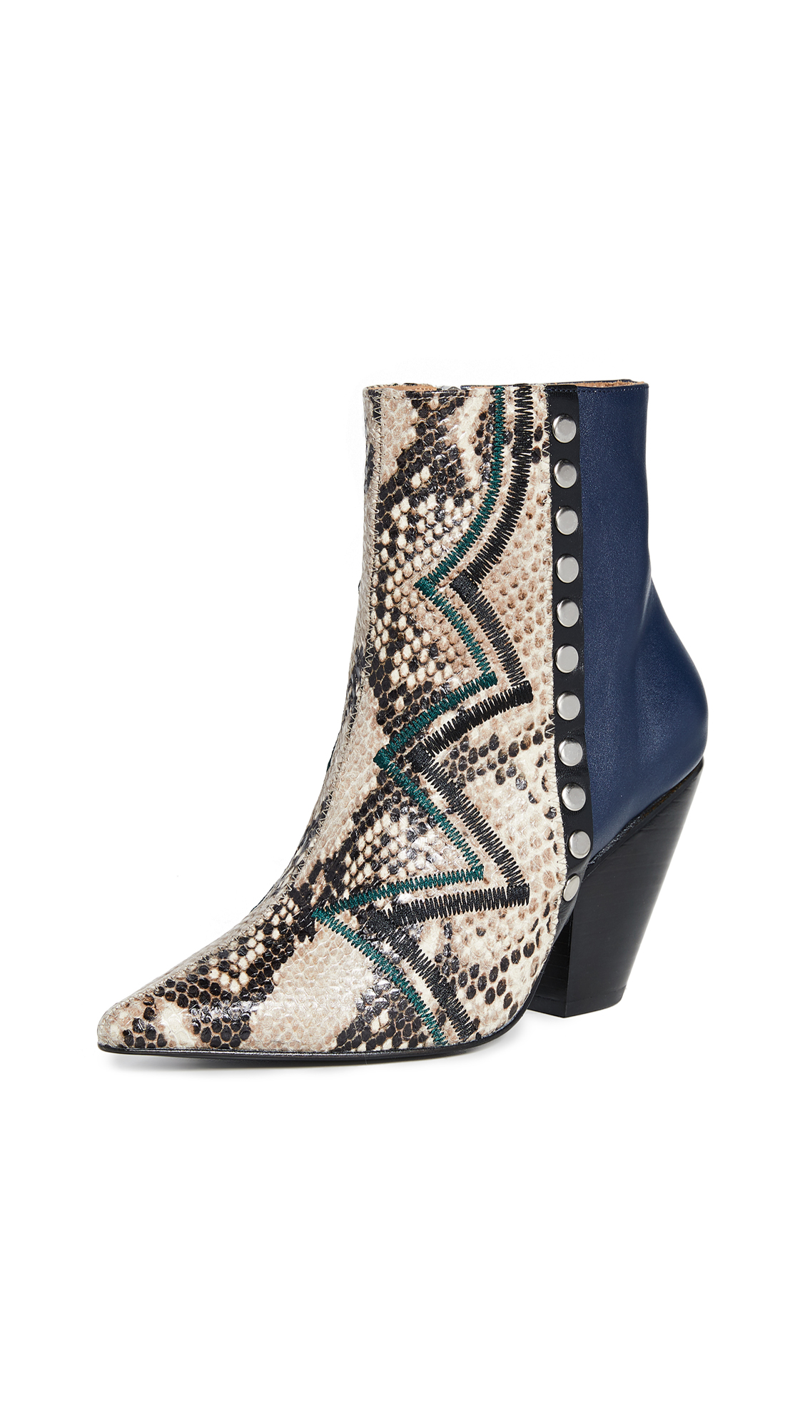 Buy Toga Pulla online - photo of Toga Pulla Snakeskin Booties