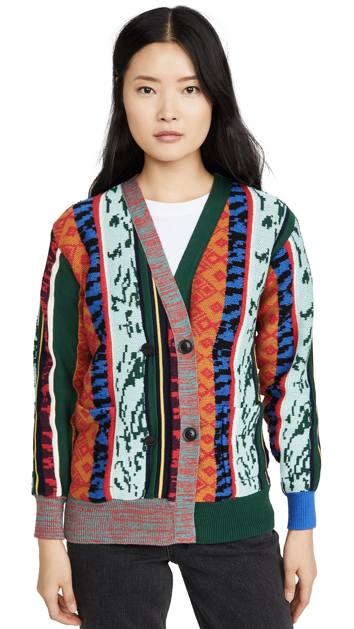Buy Toga Pulla online - photo of Toga Pulla Wide Rib Knit Cardigan