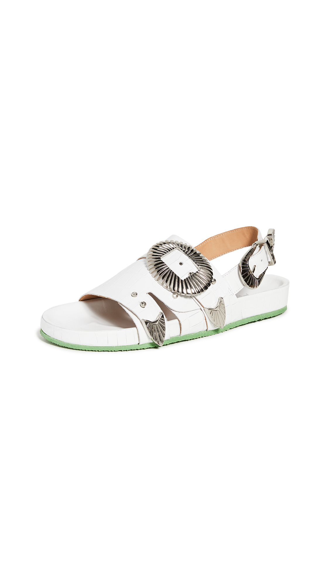 Toga Pulla Western Buckle Sandals - 40% Off Sale