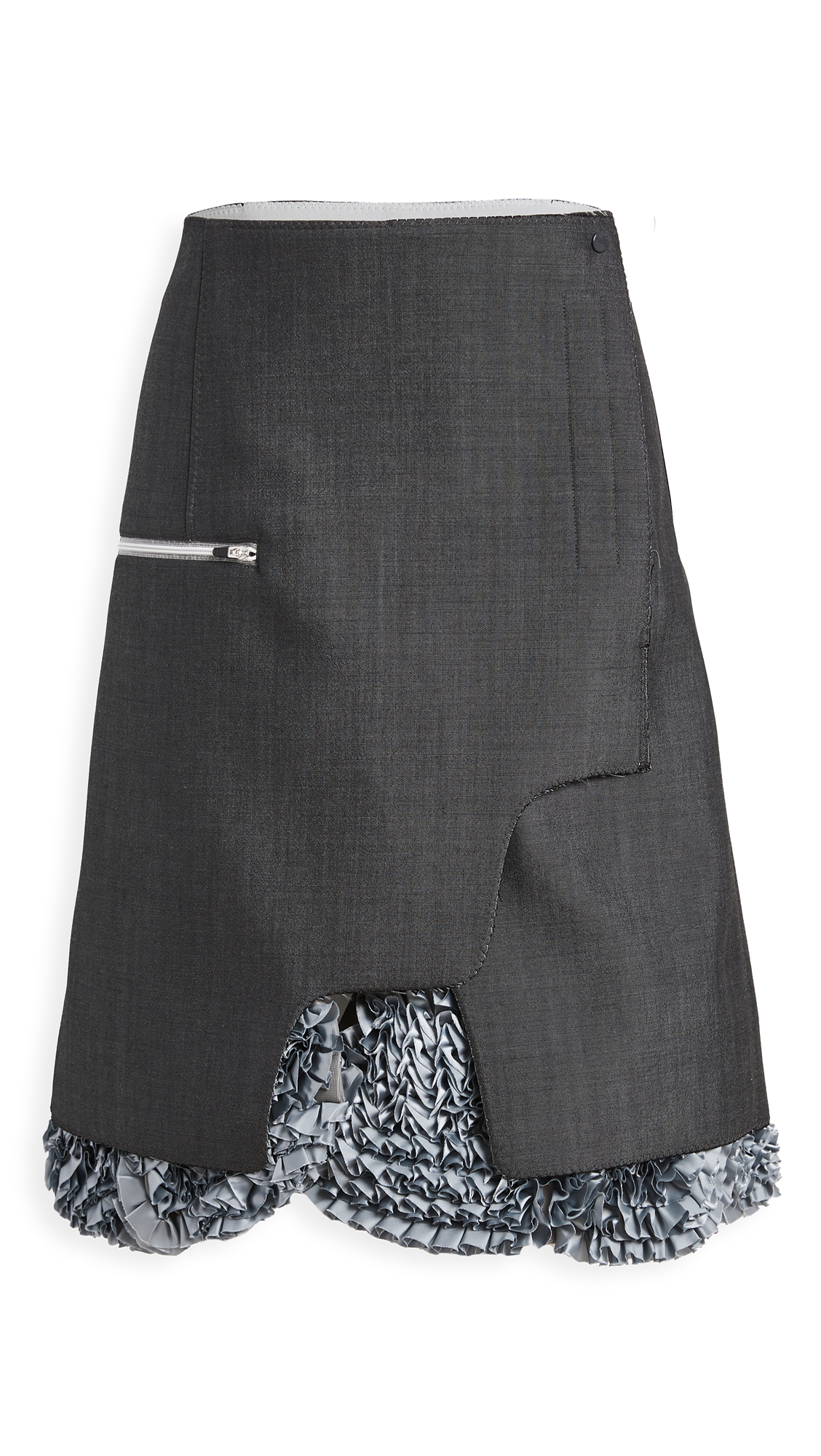 Toga WOOL MOHAIR BONDING SKIRT