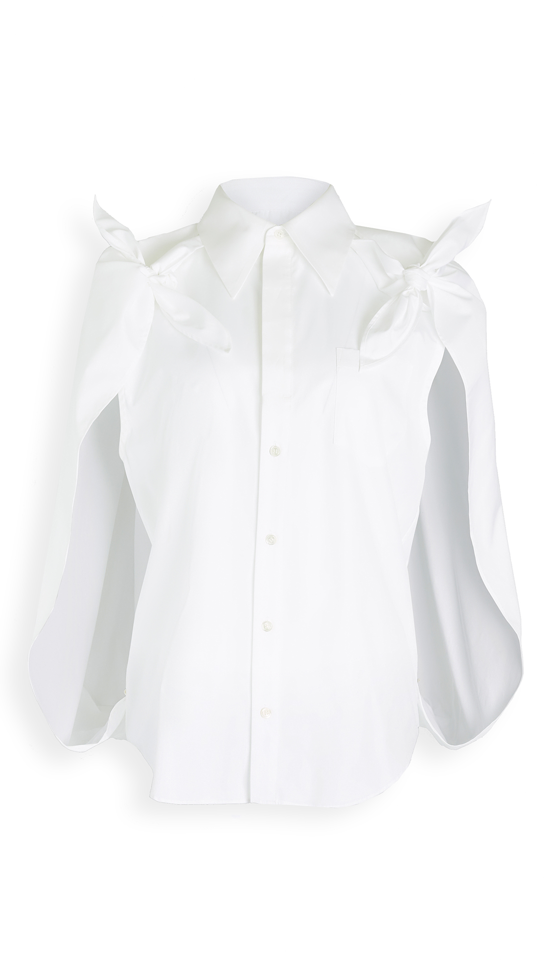 Toga Pulla Cotton Shirt Cape