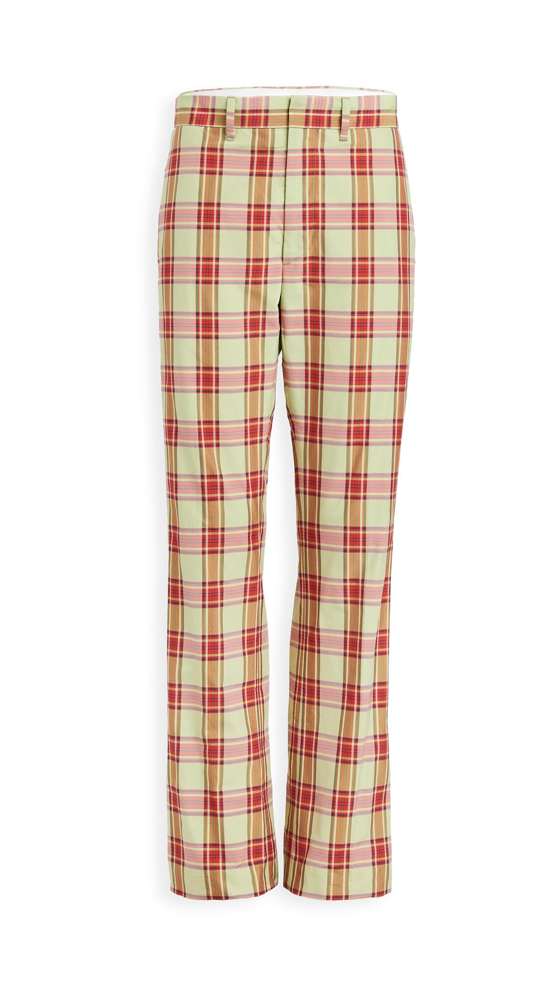 Toga Pulla Madras Check Pants