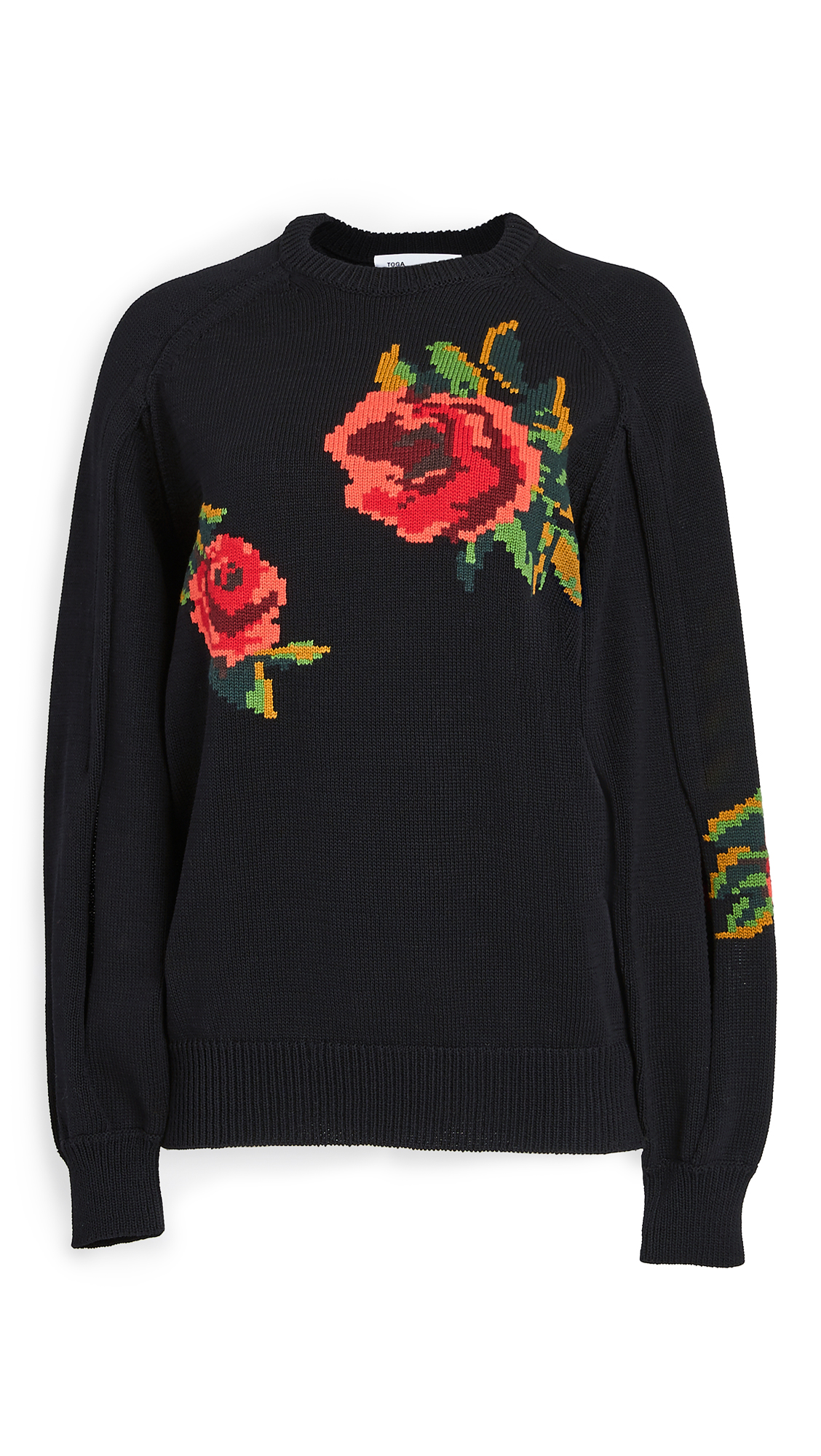 Toga Pulla Intarsia Knit Pullover