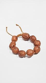 Tohum Wood Beads Resort Bracelet