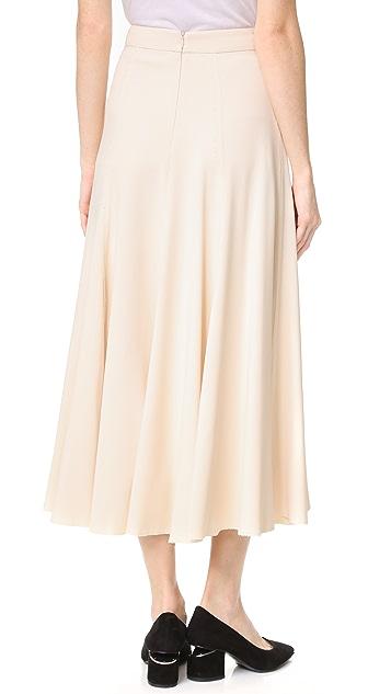 Tome A Line Skirt