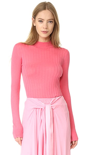 Tome Long Sleeve Sweater - Candy Pink
