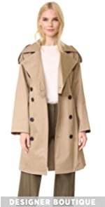 Cropped Trench Coat Tome