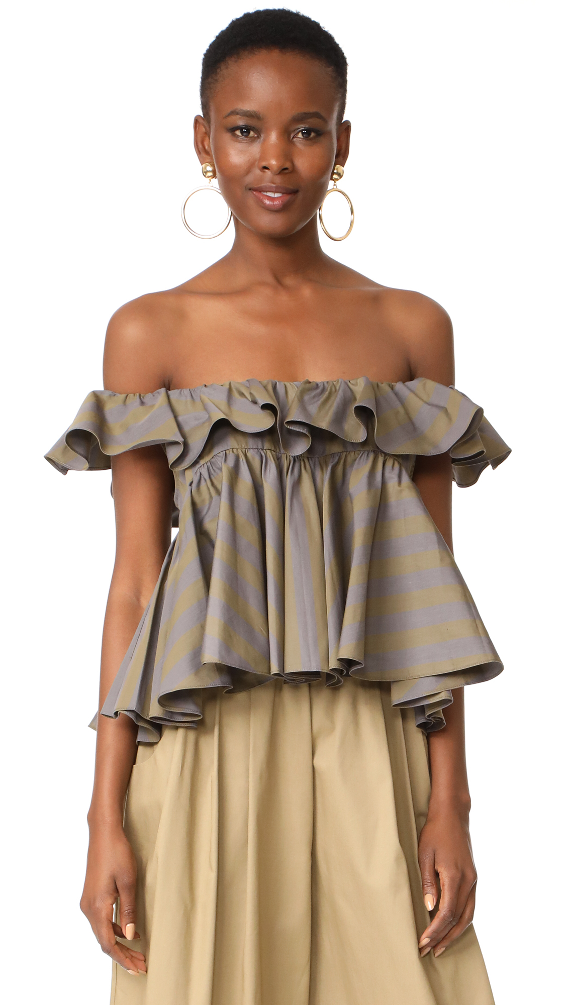 Tome Tiered Ruffle Top