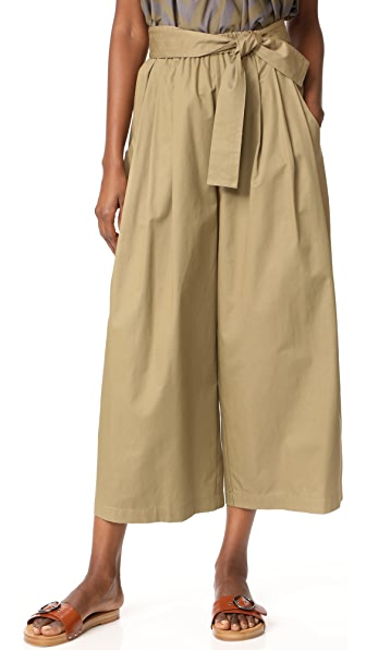 Tome Cotton Drill Karate Pants - Khaki