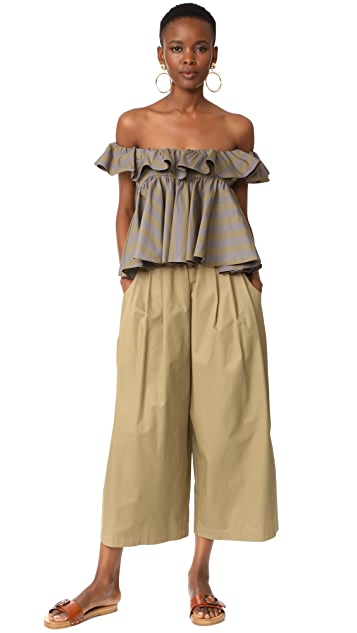 Tome Cotton Drill Karate Pants