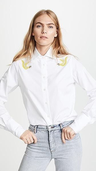 Tome Eco Classic Shirt with Swarovski Crystals