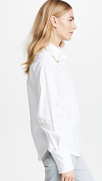 Tome Eco Classic Shirt with Swarovski Crystals