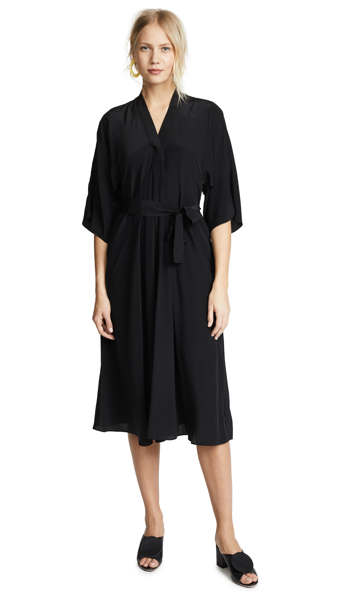 Tome V Neck Dress