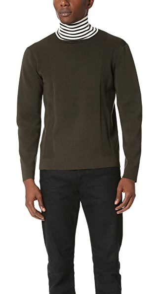 Tomorrowland Elastic Merino High Neck Pullover