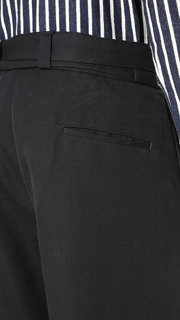 Tomorrowland Vintage Kersey Wide Trousers