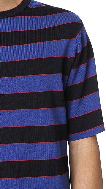 Tomorrowland Short Sleeve Crew Neck Sweater