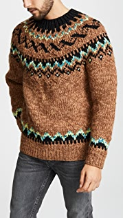 Tomorrowland Fair Isle Sweater
