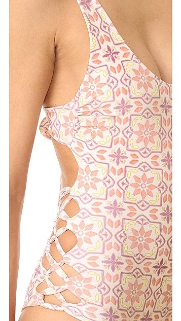 Tori Praver Swimwear Tilos Tile Sayulita Swimsuit