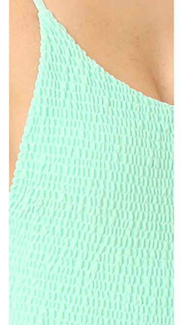 Tori Praver Swimwear Solids Honolua Swimsuit