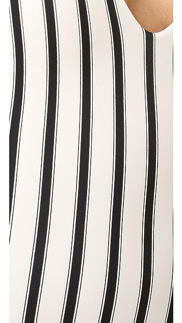 Tori Praver Swimwear Sunday Stripe Elena One Piece