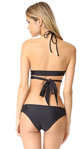 Tori Praver Swimwear Myra Wrap Bikini Top