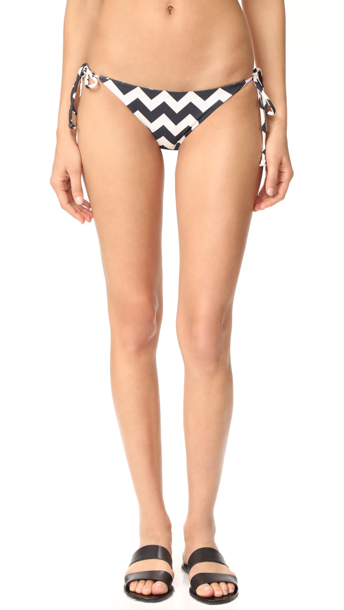 Tori Praver Swimwear Zilos Allegra String Bikini Bottoms