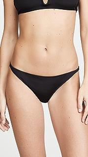 Tori Praver Swimwear Marlowe Rib Classic Bikini Bottoms