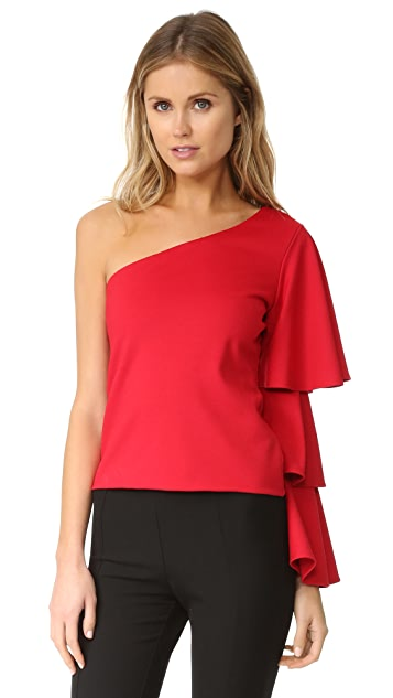 Torn by Ronny Kobo Rose Top