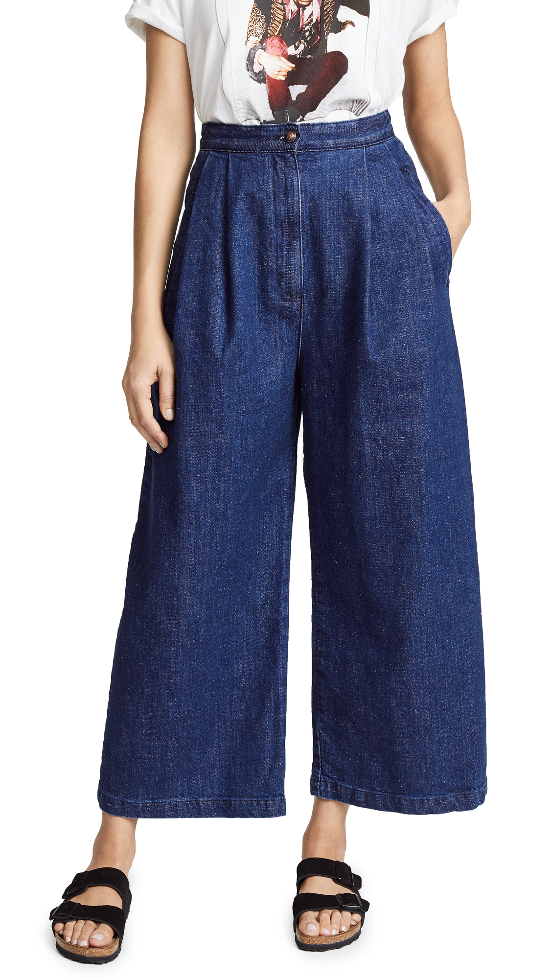LUCY HIGH RISE BAGGY TROUSER JEANS