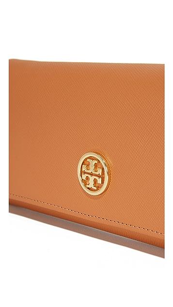 Tory Burch Saffiano Envelope Continental Wallet
