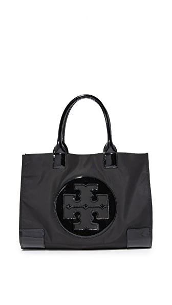 Tory Burch Nylon Ella Tote - Black