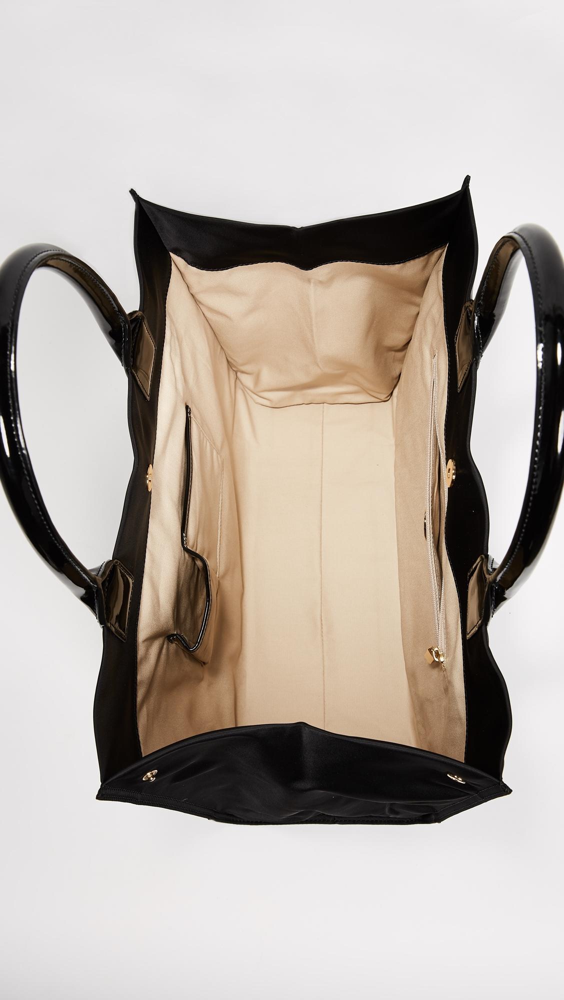 Нейлоновая объемная сумка Ella с короткими ручками Tory Burch  (TORYB4134712867314)