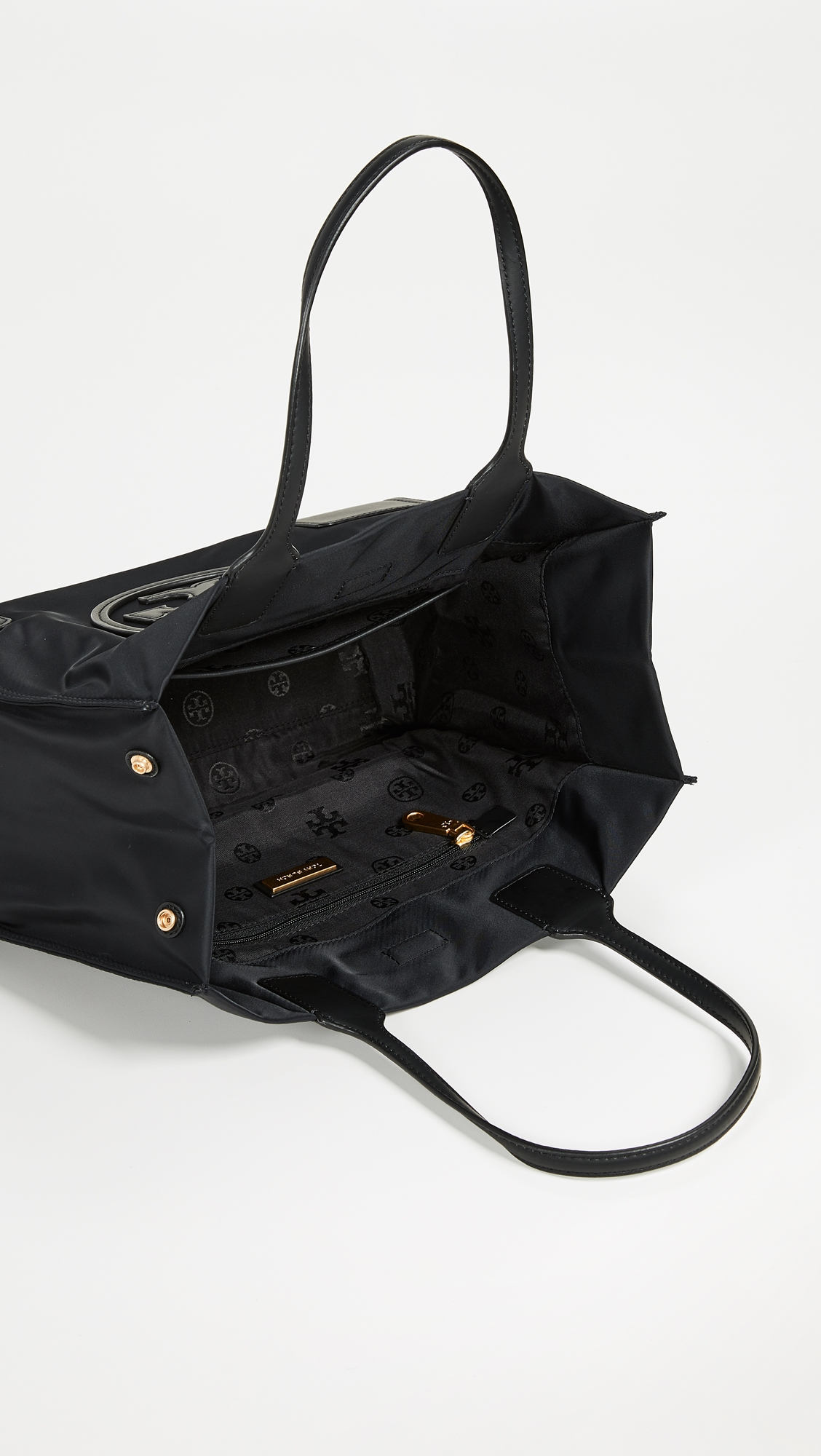 Нейлоновая объемная сумка Mini Ella с короткими ручками Tory Burch  (TORYB4171012867314)