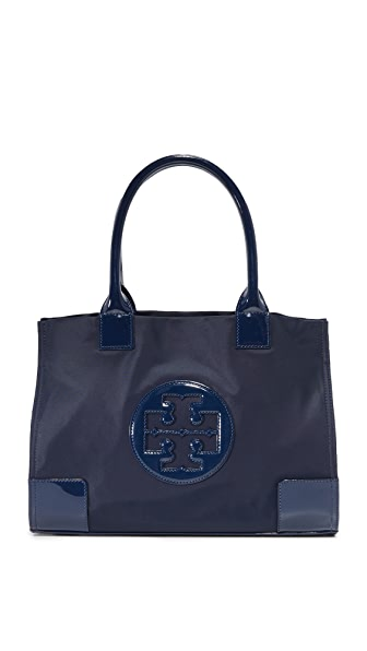 Tory Burch Nylon Mini Ella Tote - French Navy
