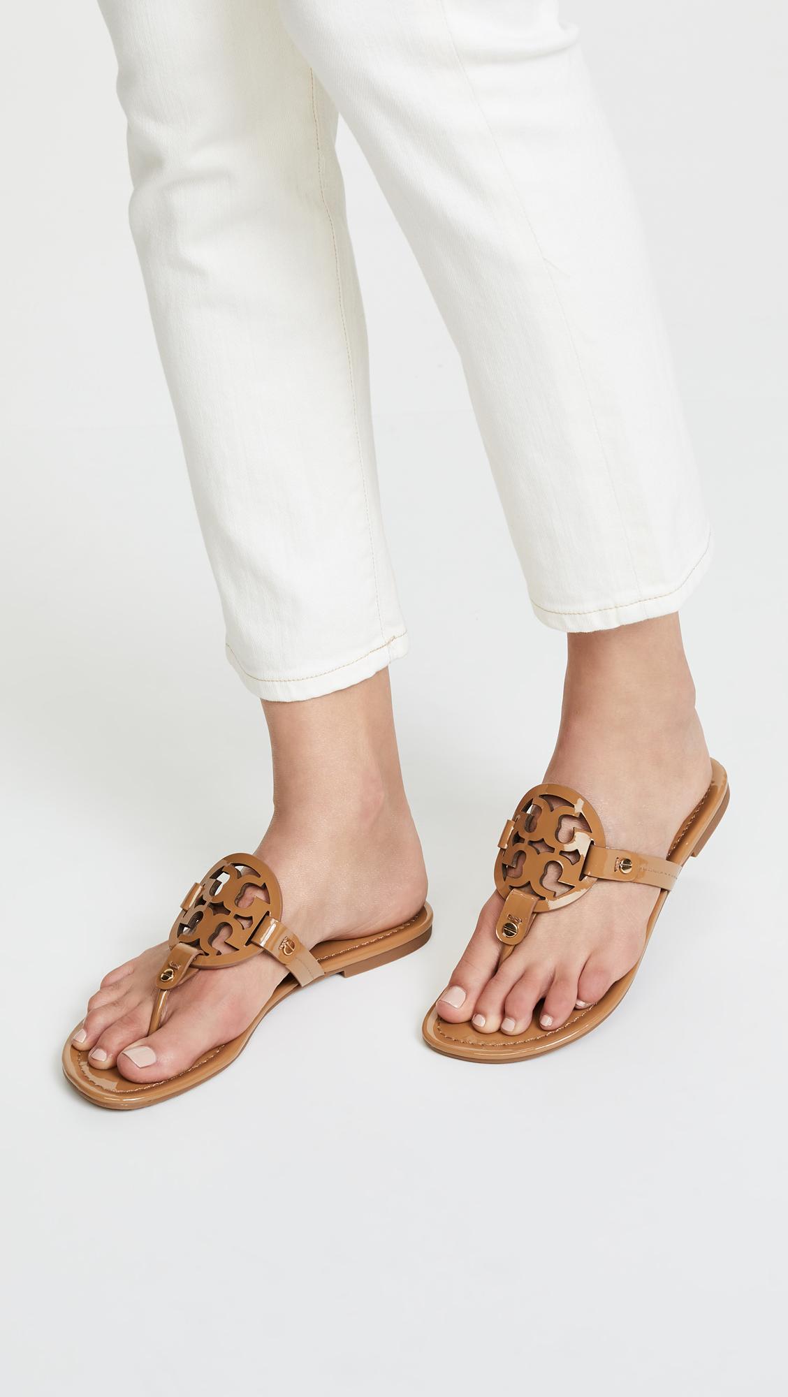 b0fc213d96c7 Tory Burch Miller Thong Sandals