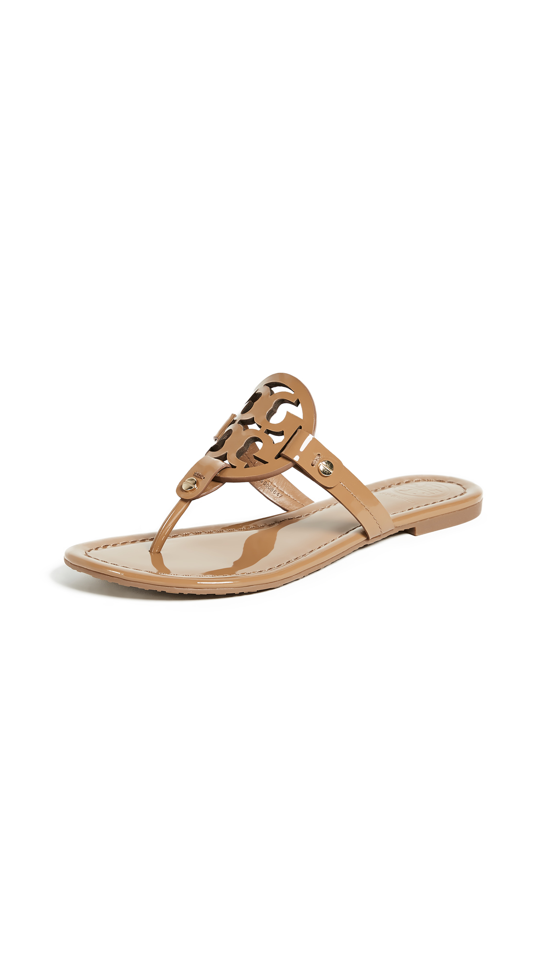Tory Burch Miller Thong Sandals - Sand