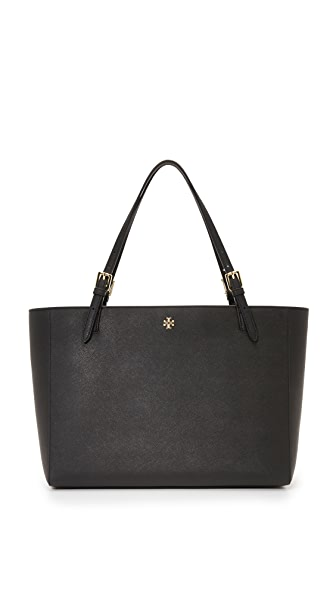 Tory Burch York Buckle Tote - Black