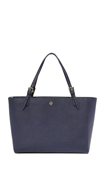 Tory Burch York Buckle Tote - Tory Navy