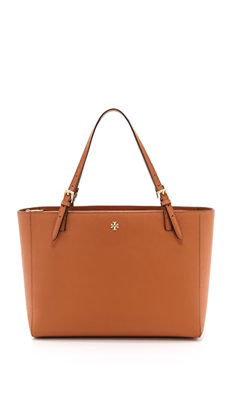 Tory Burch York Buckle Tote - Luggage