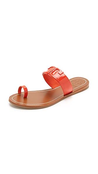 Tory Burch Marcia Toe Ring Slides