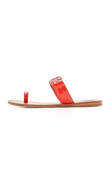 Tory Burch Marcia Toe Ring Slides