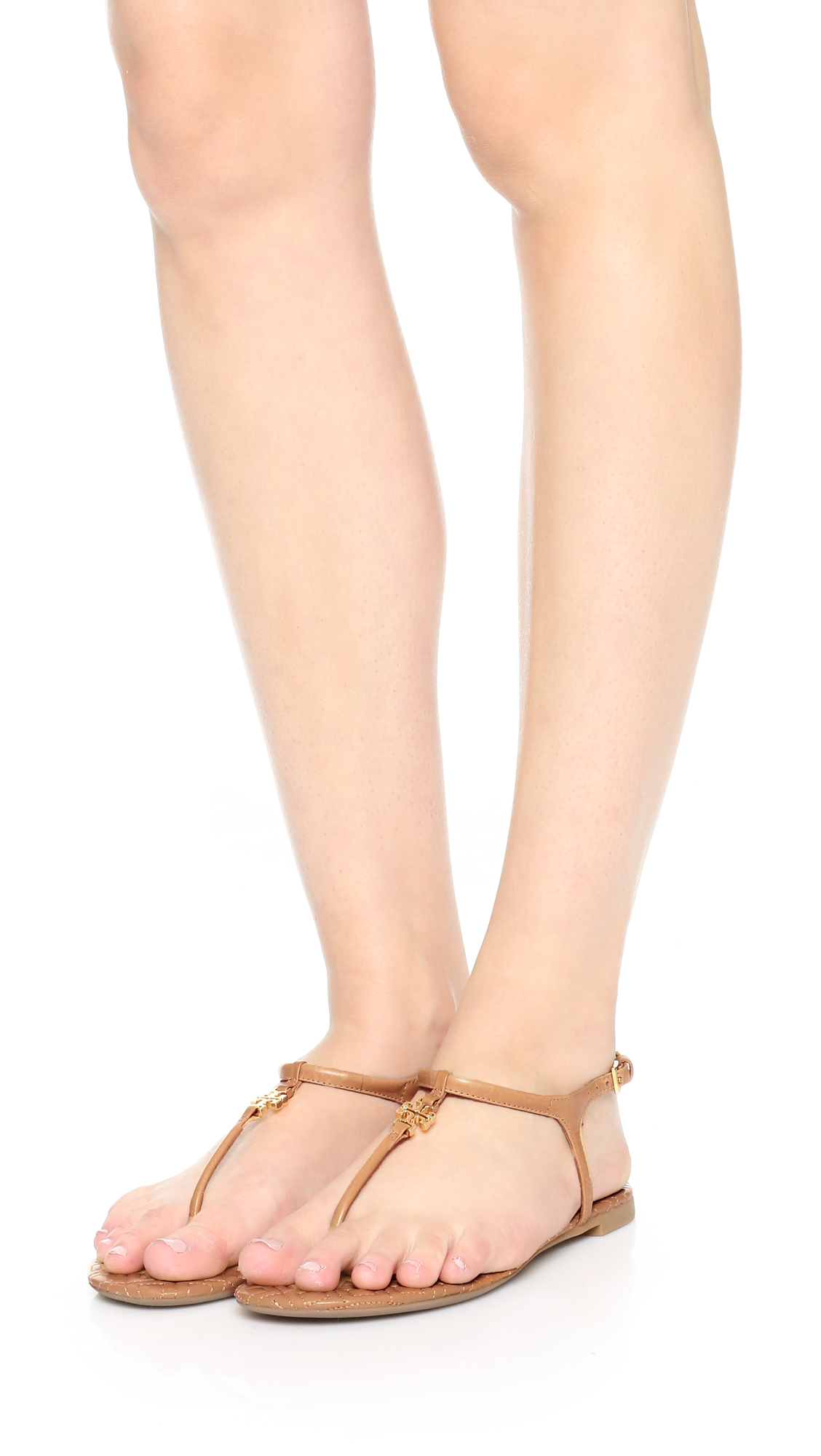 7bcdbe588490a Tory Burch Marion Quilted Sandals