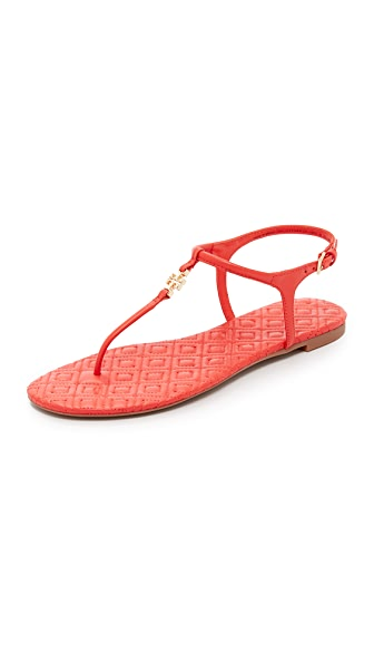 Tory Burch Marion Quilted Sandals